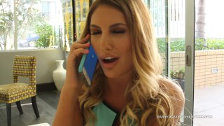 DOCEAN – August Ames Rims Man Ass and Creampied by Black Dick