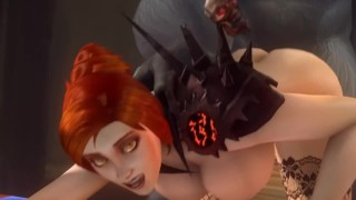WEREWOLF MATING – World Of Warcarft Porn (noname45) {sfm animation}