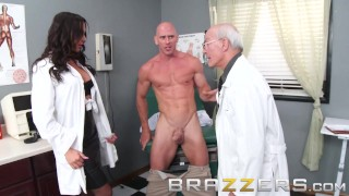 BRAZZERS – Dirty Doctor Destiny Dixo is Horny and Healthy