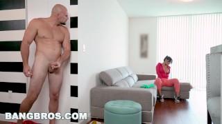 BANGBROS – Rose Monroe Is A Horny Latina Maid With Big Ass and Big Tits