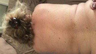 Moaning 70yr Old HORNY GRANNY fucks Young Guy. (MATURE, COUGAR) Comment!