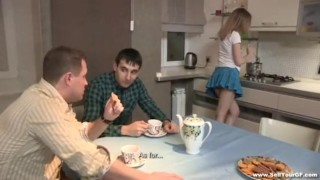 Sell Your GF Sex tube8 dessert youporn on a redtube kitchen table teenporn