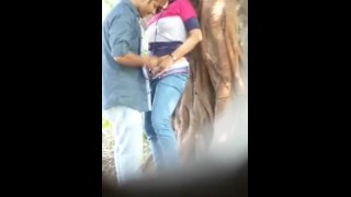Indian Couple outside Fuck but Hidden camera save video & leaked (Scandals)