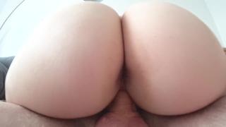 Sex with big young ass close-up