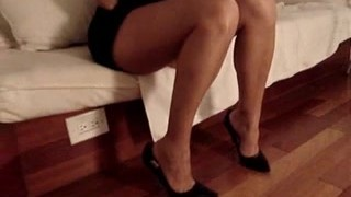 Amateur Wife Shoejob Footjob – HeelsLovers@PornhuB