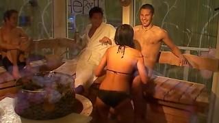 Big Brother Sauna Blowjob