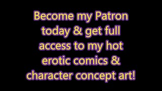 Patreon.com 3D Fantasy X Hot Erotic Image Slide Video Sexy Characters