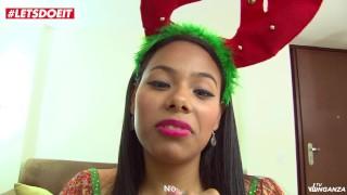 Christmas Revenge Sex with Big Booty Latina