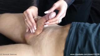 Sensual Jasmine – Tease and Denial #1 – Cumshot – Amateur – Massage Handjob