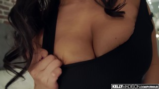 Violet Myers Bounces Her Huge Naturals And Gets Creampied