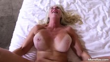 Cock hungry Cougar enjoys Hard Anal Fucking