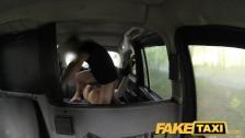 FakeTaxi – Halloween customer in taxi facial