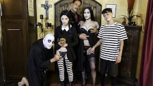FamilyStrokes – Kinky Goth Family Celebrates Halloween With Group Sex
