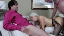 Sandra Luberc Fucking Sucking DP Oral Blowjobs Spit Roast Cumshot